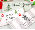 Christmas Table Favors Custom Candy Bars