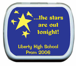 Personalized Prom Mint Tins