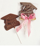 Chocolate Graduation Favors - Many Shapes