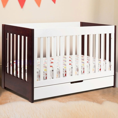 Two-Tone Mercer 3-in-1 Two-Tone Baby Crib by Babyletto - Click to enlarge