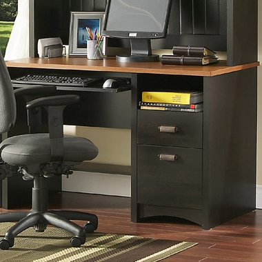 Ebony & Spicewood Gascony Collection Desk by SouthShore - Click to enlarge