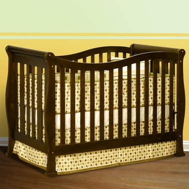 Espresso Athena Nadia 3 in 1 Convertible Crib by AFG - Click to enlarge