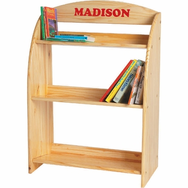Natural Lacquer Kid's Bookcase by Little Colorado