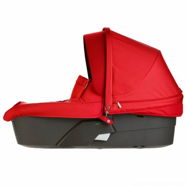 Red Xplory Carry Cot by Stokke - Click to enlarge