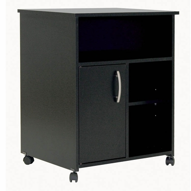 Solid Black Smart Basics Lateral File by SouthShore