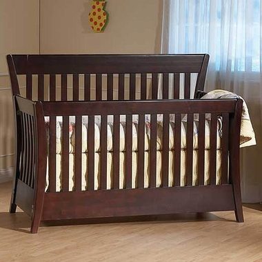 Carrigan Convertible Forever Crib Espresso 90080 Ex By