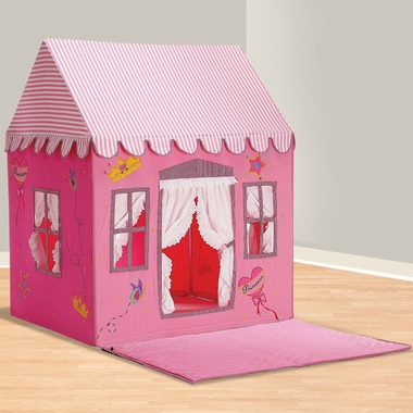 Dexton Kids Fengi Princess Playhouse & Plain Floormat Set