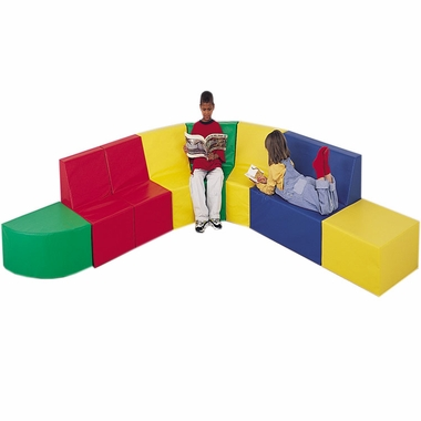 School Age Corner Seating by Children's Factory