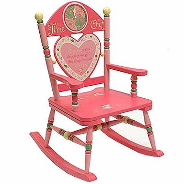 Rock A Buddies Girls Time Out Rocker by Levels of Discovery