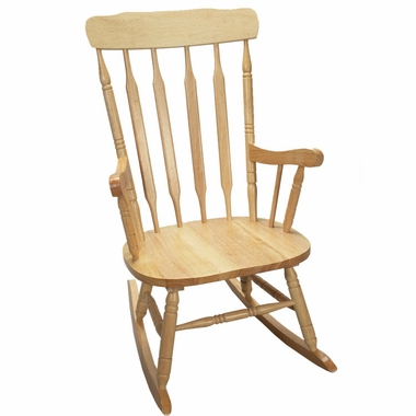 Deluxe Adult Spindle Rocking Chair by Kids Korner - Click to enlarge