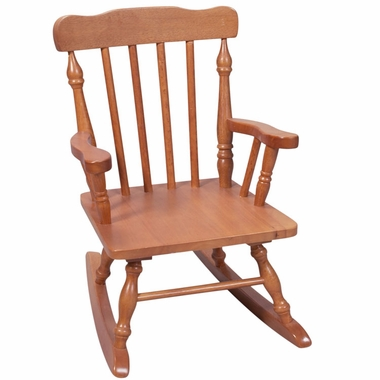 Honey Child's Spindle Rocking Chair by Kids Korner - Click to enlarge