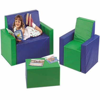 Kinder-Sized Furniture Set by Children's Factory