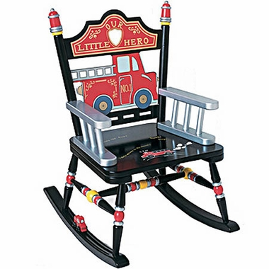Rock A Buddies Fire Engine Rocker by Levels of Discovery