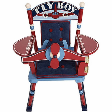 Rock A Buddies Fly Boy Airplane Rocker by Levels of Discovery