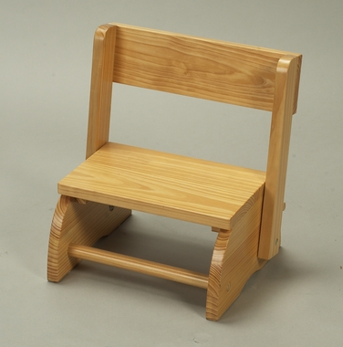 Natural Small Flip Stool by Kids Korner - Click to enlarge