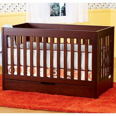 Espresso Mercer 3-in-1 Crib by Babyletto - Click to enlarge