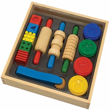 Clay Play Arts & Crafts Kit by Melissa & Doug