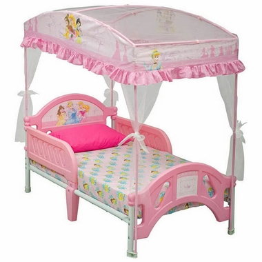 Disney Princess Toddler Bed With Canopy BB87081PS By Delta