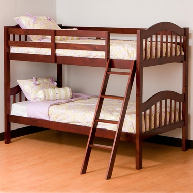 Cherry Longhorn Bunk Bed by Storkcraft - Click to enlarge