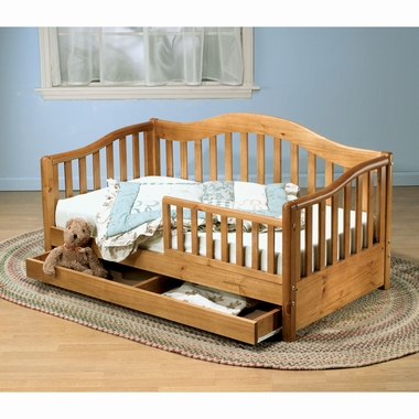 Cherry Grande Toddler Bed w/ Drawer by Sorelle