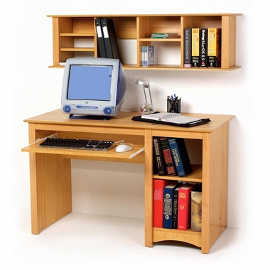 PrePac Sonoma Computer Desk - Maple