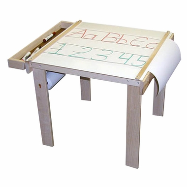 Art Table with Wooden Storage Tray by Beka