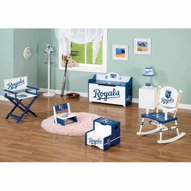 Kansas City Royals MLB Team Furniture Collection by GuideCraft