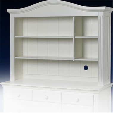 French White Vista Hutch by Sorelle - Click to enlarge