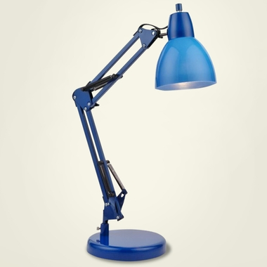 Blue Karsten Lamp by Lite Source - Click to enlarge