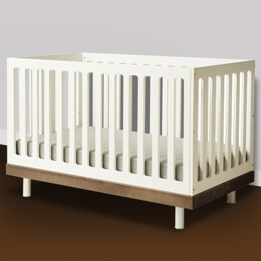 Walnut Classic Collection Crib by Oeuf - Click to enlarge