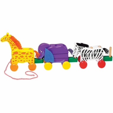 Pull Along Zoo Animals Pull Toy By Melissa Amp Doug Free