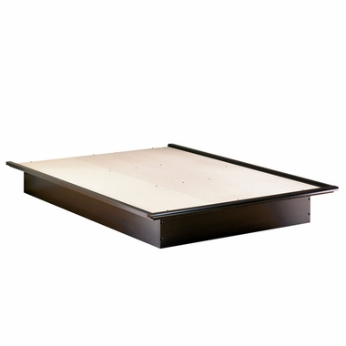 Chocolate Step One Queen Platform Bed by SouthShore - Click to enlarge
