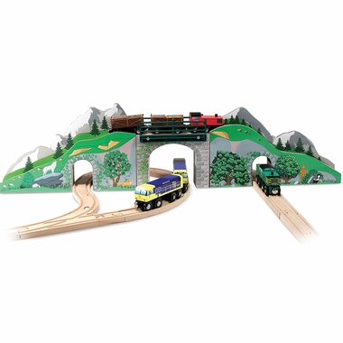 Mountain Bridge and Tunnel by Melissa & Doug