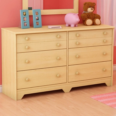 Natural Maple Shaker 5 Drawer Dresser by SouthShore