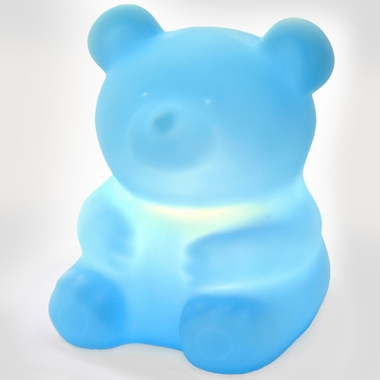 Sky Blue TerriBear Jr Pet Lamp by Offi - Click to enlarge
