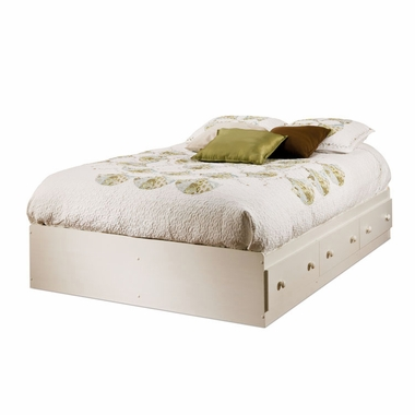 Vanilla Cream Summer Breeze Mates Bed by SouthShore