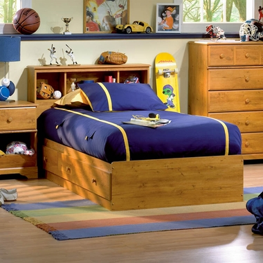 Country Pine Little Treasures Mates Bed by SouthShore