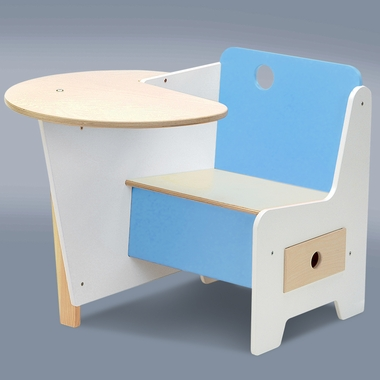 Blue Doodle Desk by Offi - Click to enlarge