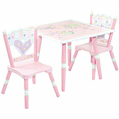 Value Lines Fairy Wishes Table & 2 Chair Set by Levels of Discovery