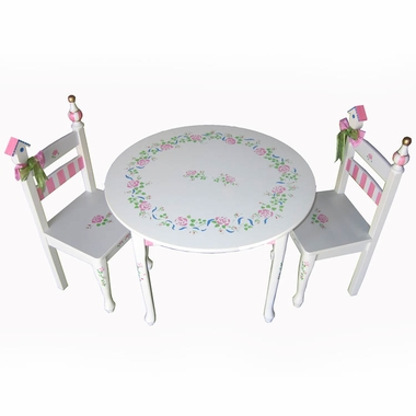 Princess Rose Table and Chair Set by Dexton Kids