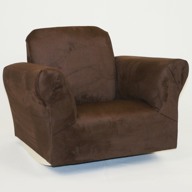 Chocolate Microfiber Standard Rocker by Magical Harmony Kids - Click to enlarge