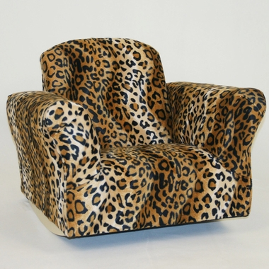 Leopard Standard Rocker by Magical Harmony Kids - Click to enlarge