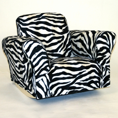 Zebra Standard Rocker by Magical Harmony Kids - Click to enlarge