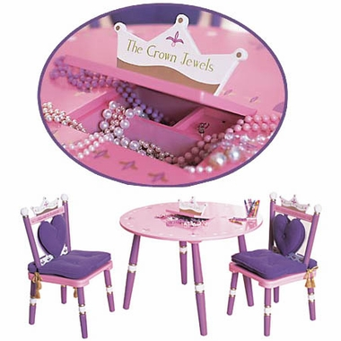 Princess Table & 2 Chair Set by Levels of Discovery