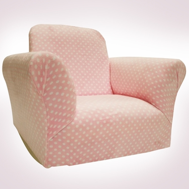 Light Pink Dot Standard Rocker by Magical Harmony Kids - Click to enlarge