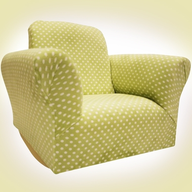 Green Dot Standard Rocker by Magical Harmony Kids - Click to enlarge