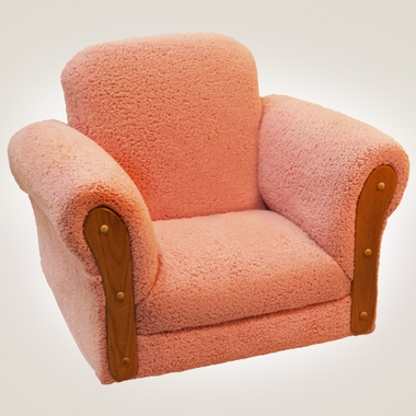 Pink Cuddle Fur Deluxe Rocker by Magical Harmony Kids