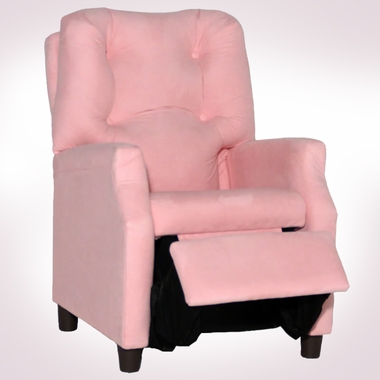 Pink Microfiber Deluxe Recliner by Magical Harmony Kids - Click to enlarge