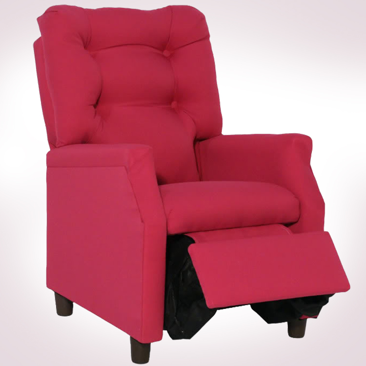 Miraculous Hot Pink Deluxe Recliner By Magical Harmony Kids Pabps2019 Chair Design Images Pabps2019Com