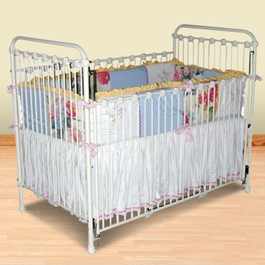 Classic Iron Crib 1682 By Corsican Baby Cribs At